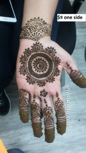 Heena Artist in Mississauga - As low as $4/side