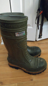 Cofra thermic steel toe rubber boots