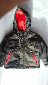 Winter jacket and snow pants for 3-4 yr old kid