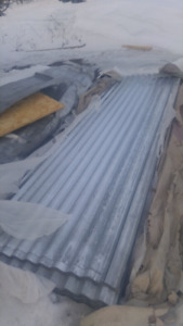 Roof or wall sheet metal. 10 ft. 20.00. Each