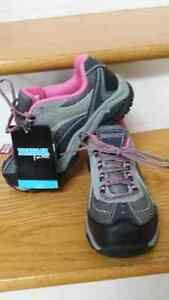 ladies new steel toed work shoes
