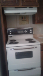 4 stoves and 4 fridges from 4 plex