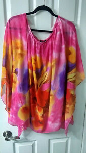 Igigi by Yuliana Raquel Convertible Kali Tunic top size 18 NWOT Kitchener / Waterloo Kitchener Area image 3
