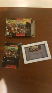 Donkey kong 2 diddy's long quest SNES