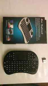Android TV Box Mini Wireless Handheld Remote Control Keyboard