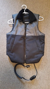 BMW heated motorcycle vest