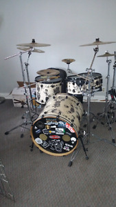 One of a kind Cory Miller drum kit