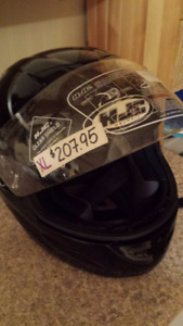 BRAND NEW FULL FACE MOTORCYCLE OR SNOWMOBILING HELMET