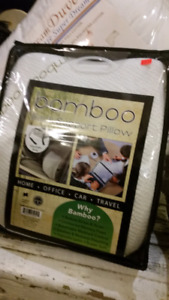 Bamboo back support pillows