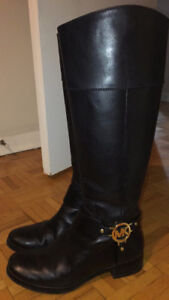 Michael Kors leather boots Size us 6.5