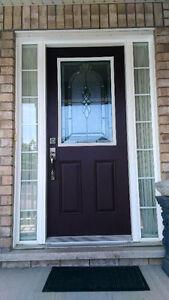 DOOR WITH FRAM