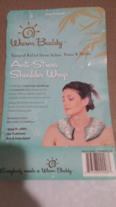 WARM BUDDY Antistress. Antipain Shoulder Wrap. Brand New Packed
