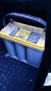 Deep cycle optima yellow top battery for sale!