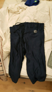 football pants and equitment size med