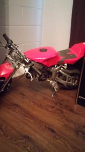49cc Pocket Bike