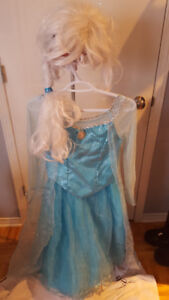 Costume Elsa la reine des neiges (Frozen)