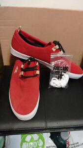 Fallon Red Suede Leisure (Board), Shoes
