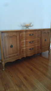 China Cabinet - 2 Piece - Mint Condition!!!