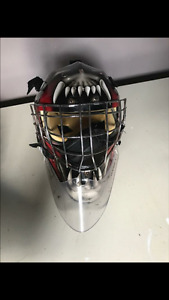 Used goalie equipment