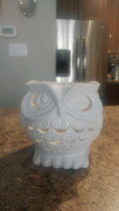 Bath and Body Works Owl Candle Holder