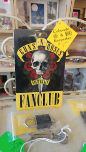 Guns N Roses Nightrain Fan Club Laminated Pass