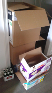 FURNITURE AND MOVING BOXES FOR CHEAP