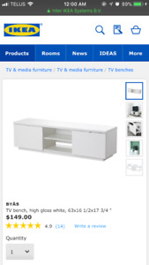 Ikea - TV unit with drawers