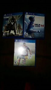 PS4 games, all for 25.00