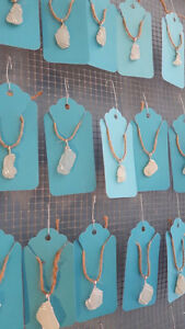 Hand-picked Nova Scotia Sea glass necklace pendants