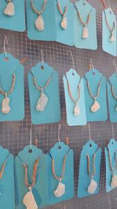 Hand-picked Nova Scotia Sea glass necklace pendants