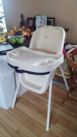 Basic High Chair with removable tray
