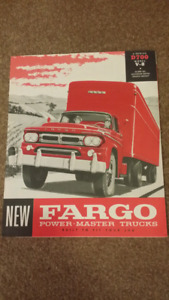 Wanted: Dodge and Fargo Truck Literature