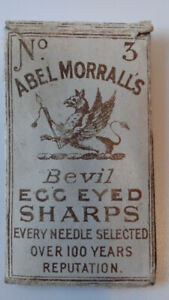 Vintage Morrall's Sewing Needle Case, Needle Book
