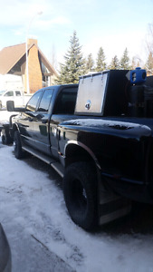 2006 dodge 1 ton with welding skid