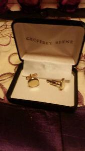 Geoffrey Been Gold Cufflinks