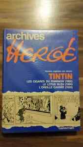 BD Archives Hergé Tome 3 (397 pages), Tintin