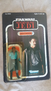 STAR WARS VINTAGE ORIGINAL 1983 figurine LANDO CALRISSIAN
