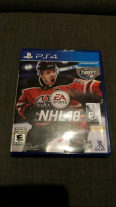NHL 18 PS4 Used, Works Perfectly