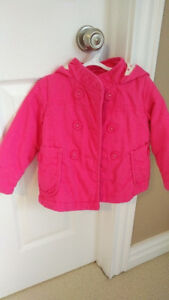 Pink Toddler Girl 3T Old Navy Fall/Spring Jacket