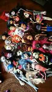 monster high collecrions