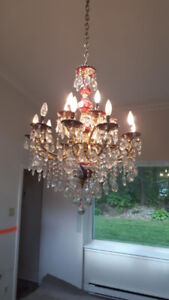 Lustre type chandelier