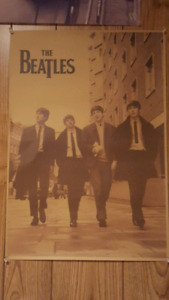 "The Beatles poster (Approx size 14"" x 20"")"