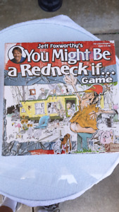 Jeff Foxworthy's YOU MIGHT BE A RED NECK IF.....GAME