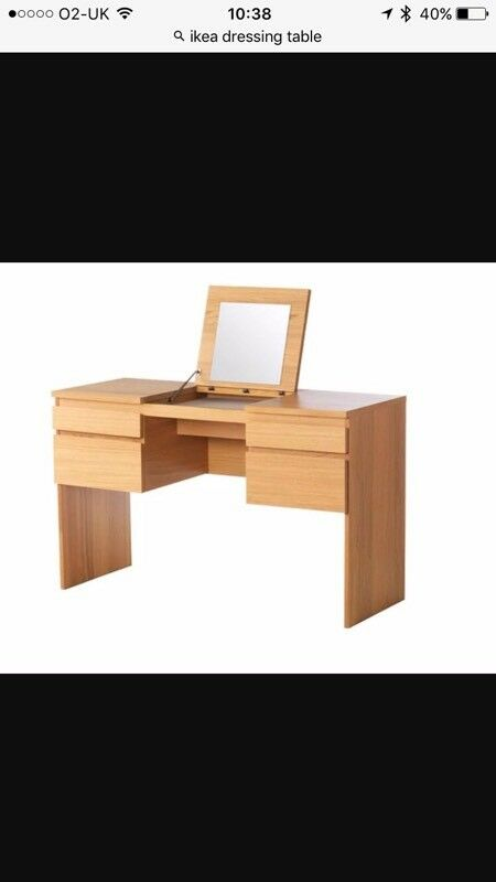 IKEA RANSBY DRESSING TABLE WITH MIRROR