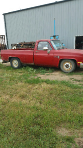 1984 Chevrolet C20 350 2wd - total loss-