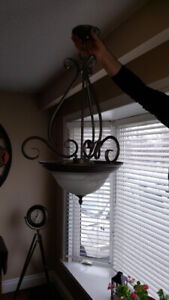 Dining Room & Kitchen Matching Lights - $50.00 for both