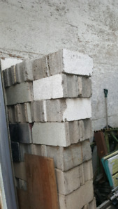 Cinder blocks. $1 ea.