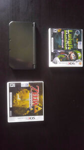 New 3ds Xl -Gray, 2 games