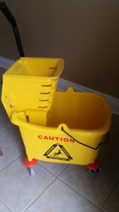 Brand new mop bucket