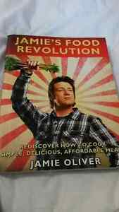Jamie oliver cook book for sale. $20 or best offer
